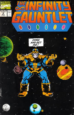 Avengers 1991 Marvel Comics L3 Infinity Gauntlet Issue #2 1st Print NM