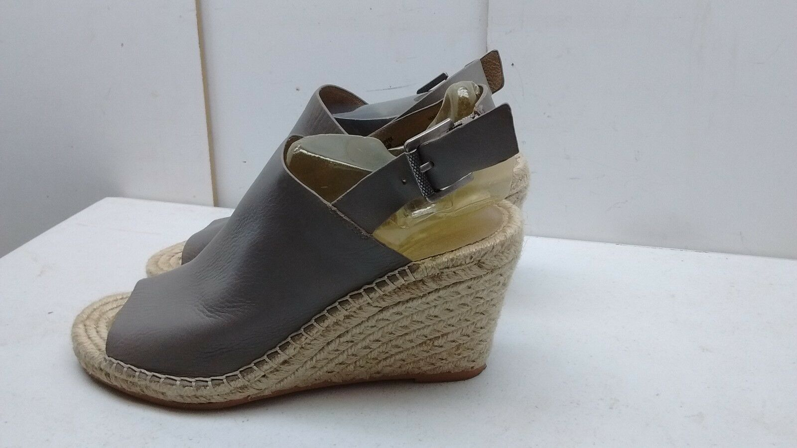 Caslon Caslon Caslon Sutton Mujeres Cuero gris Charol Alpargata Cuña Zapato de vestido informal 8M  saludable