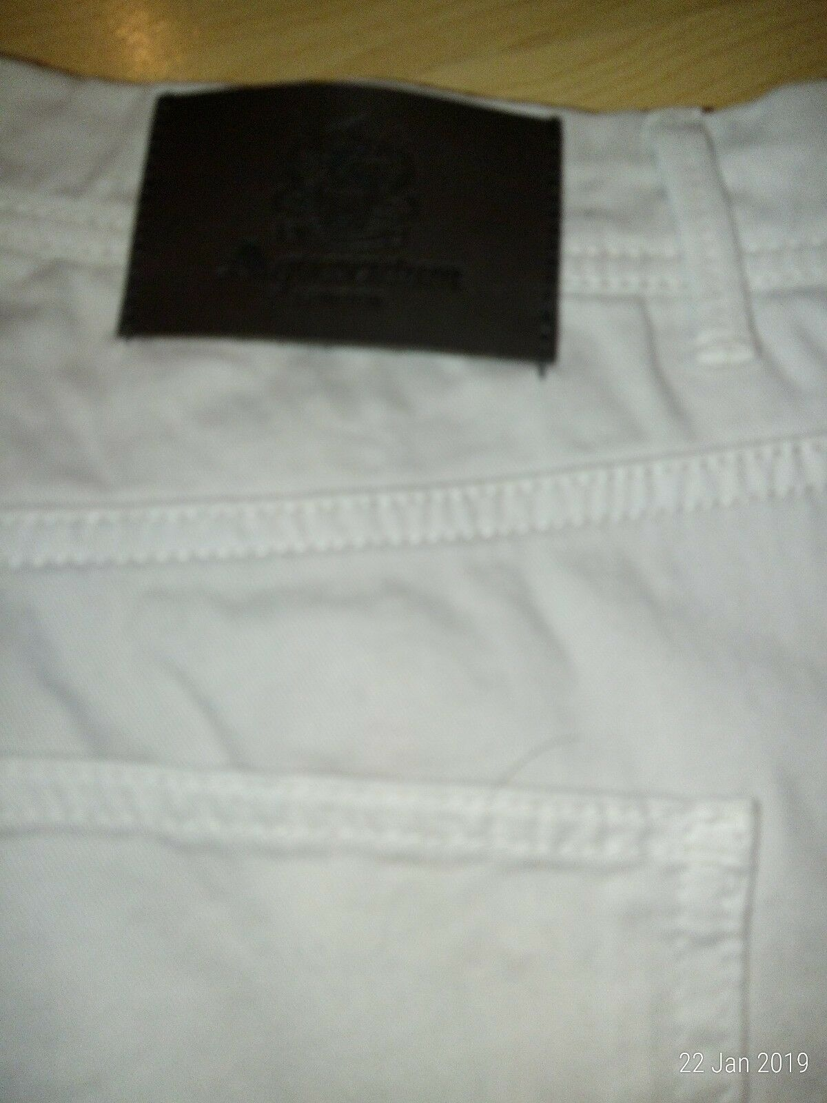 Aquascutum mens jeans stone 40R  New