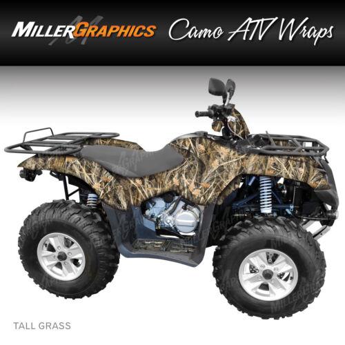 "Camo ATV Wrap /""Tall Grass/"" 3M Vinyl Graphic Kit for ATV 4 Wheeler"