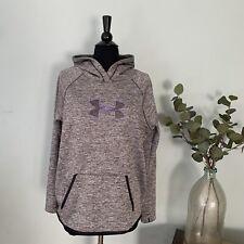 UNDER ARMOUR Women/'s Big Logo Cold Gear Storm Pulllover Sweatshirt,plystr$54.99