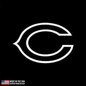 Chicago Bears Vinyl Sticker Car Laptop Room Window Decal Football - Window stickers for cars chicago