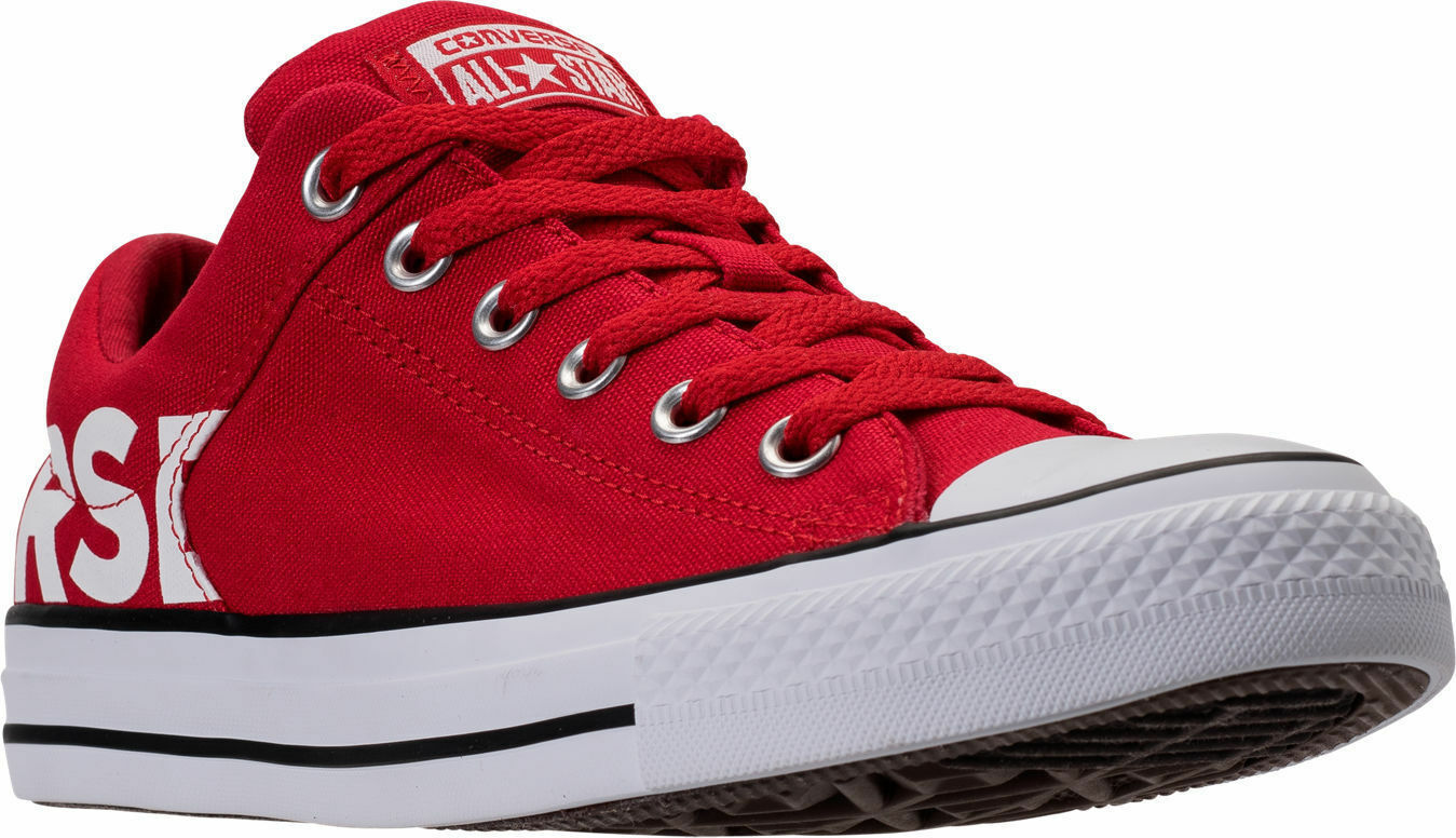 AUTHENTIC Converse Chuck Taylor All-Star Canvas Workmark rot Weiß Blk men Größe