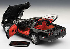 Autoart CHEVROLET CORVETTE 1986 BLACK 1/18 Scale. New Release! IN STOCK!