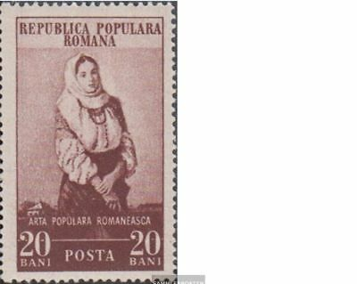kompl.ausg. 100% Wahr Rumänien 1430-1434 Gestempelt 1953 Rumänische Volkskunst Elegante Form