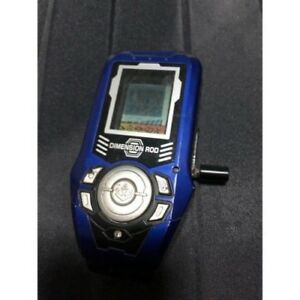 Bandai-2005-Dimension-Rod-Game-Blue-Tested-Works-Nice