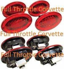 1997 - 2004 C5 Corvette LED Taillight Set. NEW. Includes 4 Tail Lights