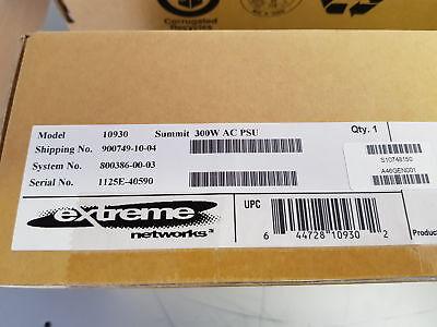 Laborioso Nuovo Extreme Networks X460 300 W Ac Alimentatore Psu 10930-
