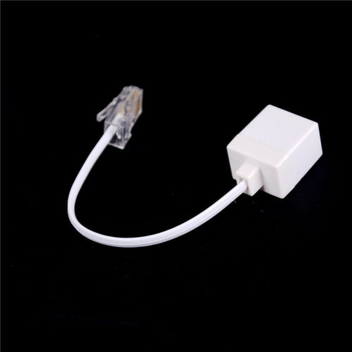 RJ11 6P4C Female To Ethernet RJ45 8P8C Male F//M Adapter Converter Cable Phone  B