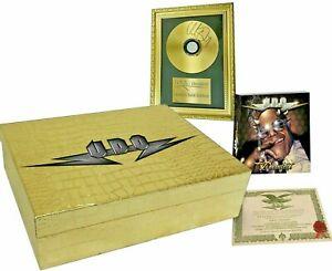 U.D.O. Dirkschneider - Decadent Boxset signed Gold CD (ex Accept) Zertifikat NEU