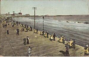 Atlantic-City-NEW-JERSEY-Boardwalk-Rolling-Chairs-Ocean-Pier-1911