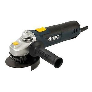 #468592 GMC 900W Angle Grinder 115mm metal work grinding construction GMC1152G