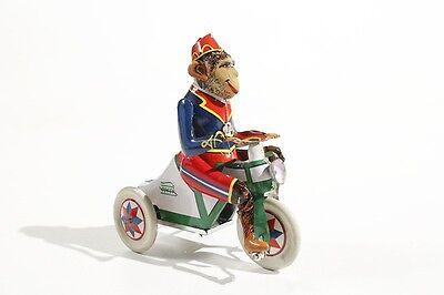 Freundschaftlich Affe °°tin Toy °° Starke Verpackung Blechspielzeug Affe Auf Dreirad ähnlich Arnold