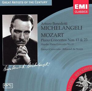 Mozart: Piano Concertos Nos. 13 & 23; Haydn (CD, Slipcase, EMI) Michelangeli