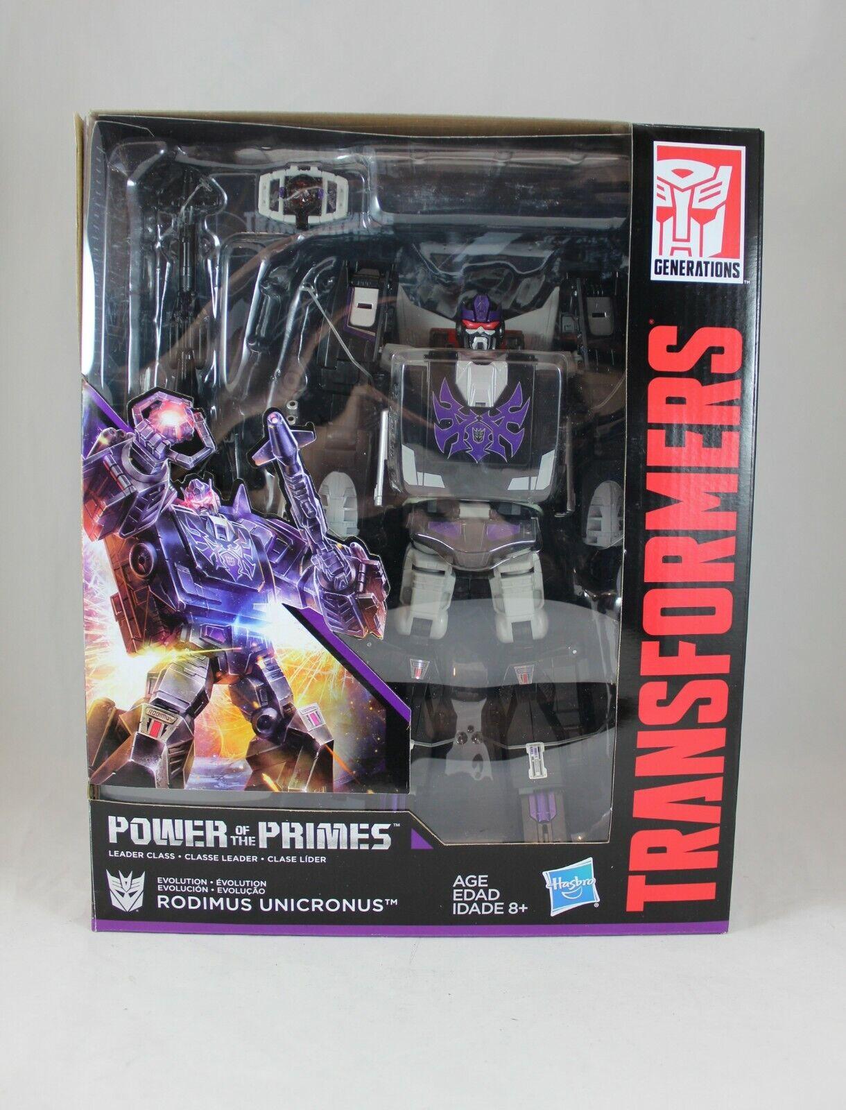 Transformers Power of the Primes Leader Class Rodimus Unicronus