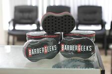 BARBERGEEKS HAIR TWIST SPONGE  barber foam unisex salon black and red