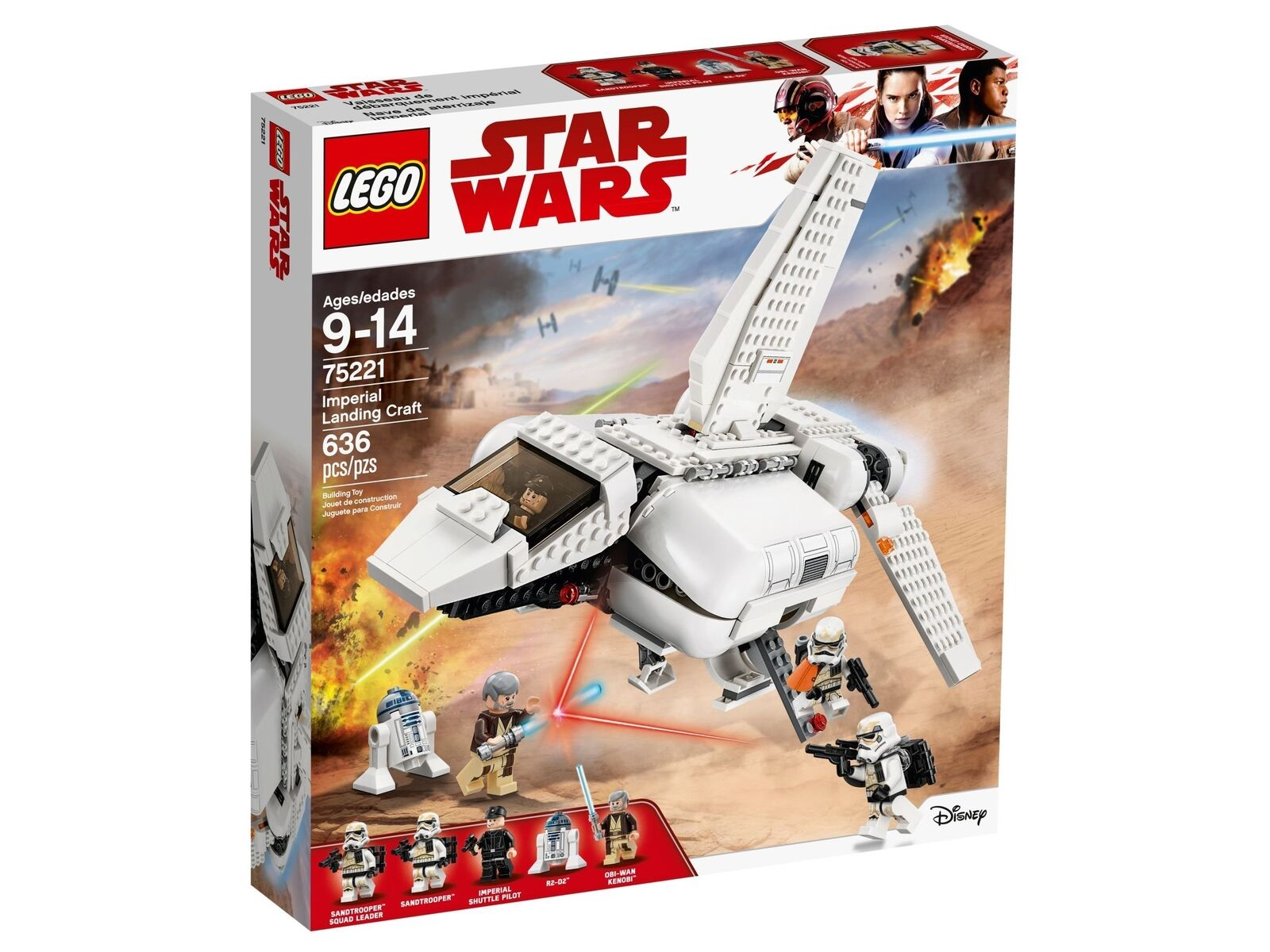 Lego Star Wars™ 75221 Imperial Landefähre Neuf Emballage D'Origine Misb