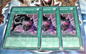 Yugioh-Chain-Summoning-PTDN-EN057-3X-1st-Edition-Common-NM-MINT