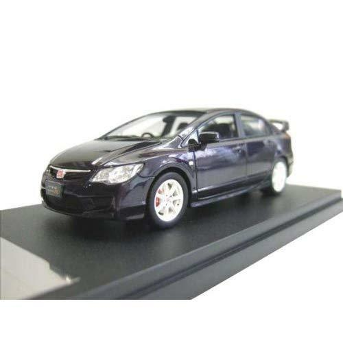 WIT'S 1 43 HONDA CIVIC TYPE R FD2 Premium Deep purple Pearl (japan import)
