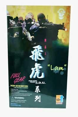 "Dragon 1//6 scale HK Hong Kong Police SDU Sniper 12/"" Action Figure Lam 73010"