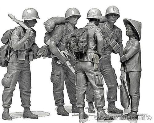 PATROLING VIETNAM WAR SERIES 5 FIGURES 1//35 MASTER BOX 3599 DE