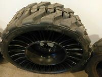 12-16.5 Michelin Tweel Skid Steer Tire/wheel/rim For Bobcat & More-12x16.5-34735
