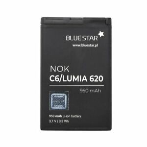 BATTERIA-per-Nokia-Lumia-bl-4-620-3-7v-950-mAh-Li-Ion-ACCU-di-BLUESTAR