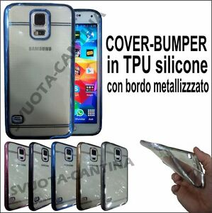 CUSTODIA-BUMPER-COVER-GOMMA-BORDO-METAL-A-SCELTA-PERVARI-SAMSUNG-APPLE-HUAWEI