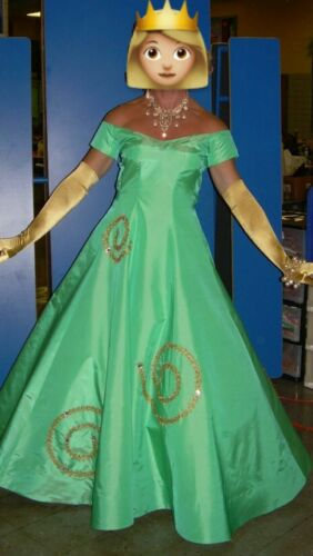 Handmade Green Size 16 Drag Gown