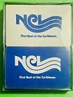 Vtg NCL NORWEGIAN Cruise Line Caribbean Ship DOUBLE DECK PLAYING CARDS new