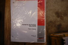 Case Farmall 55 60 Tractor Parts Manual Book Catalog Spare List 2008 Farm Rops