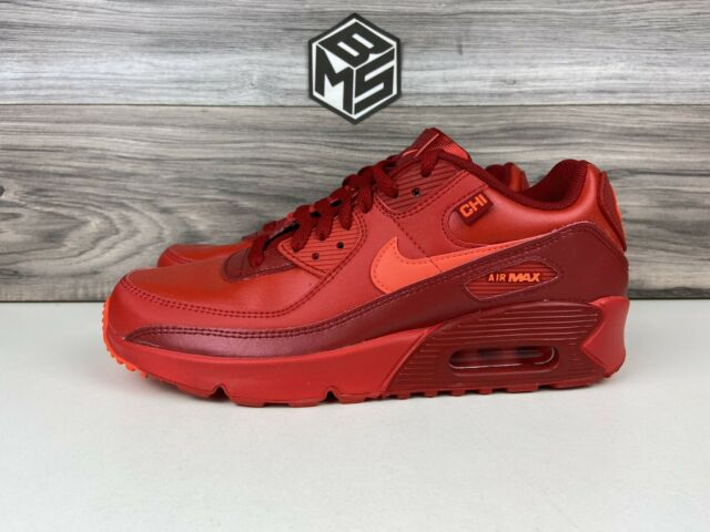 Nike Air Max 90 Ltr (gs) Chicago City Special University Red ...