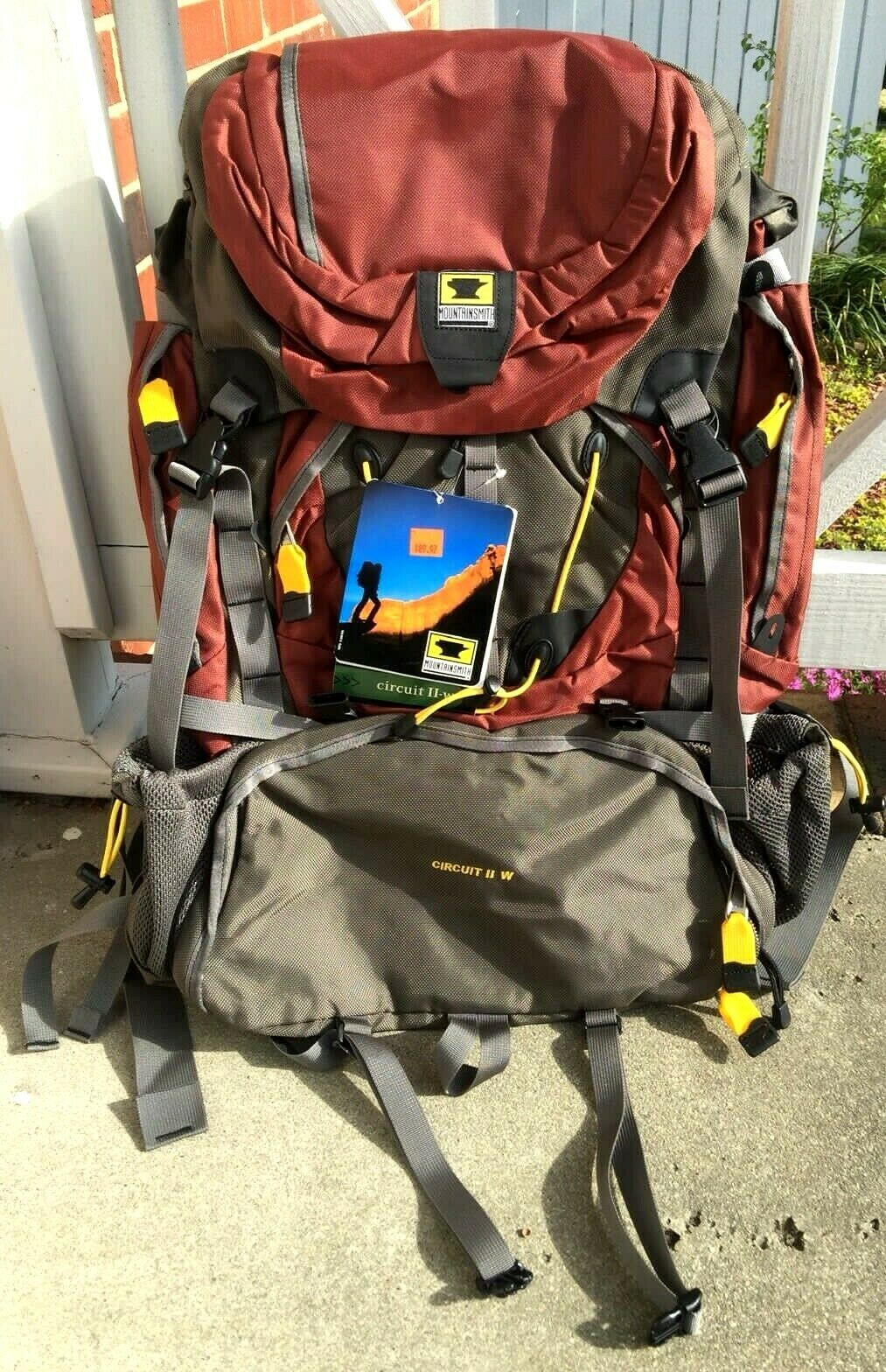 nuovo MountainSmith Circuit II Hire Backpack Cinnamon donna