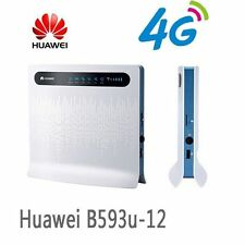 Original unlocked Huawei B593 B593u-12 FDD 4G LTE WiFi Router with 4 LAN Port