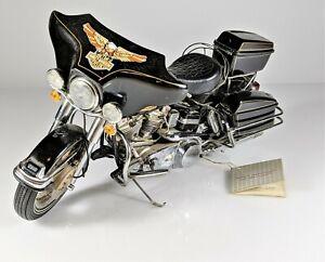 Franklin Mint Harley Davidson Electra Glide Flh Motorcycle Parts Or Repair Ebay