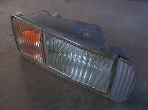 NISSAN STAGEA WGNC34 series 2 front fog indicator light damage drivers R/H side