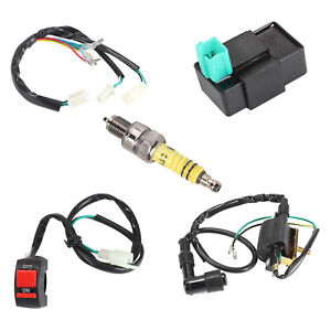 Kill-Switch-Coil-CDI-Spark-Plug-Wiring-Loom-for-90cc-110-125-140cc-ATV-Pit-Bike