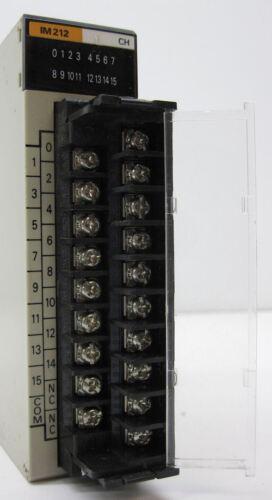 16 Inputs 24VAC//DC OMRON C200H-IM212 Input Module