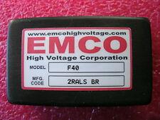 EMCO F40 High Voltage Power Supply Module 4KV 4,000 Volts Brick (International)
