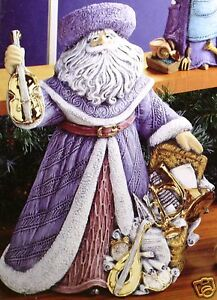 Ceramic-Bisque-Music-Santa-Gare-Mold-3020-U-Paint-Ready-To-Paint