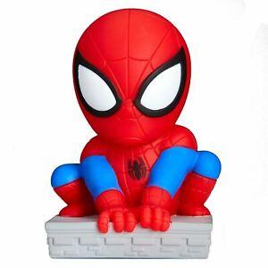 Spiderman-Goglow-Pote-Nuit-Lumiere-et-Torche-2-IN-1-Doux-Squishy