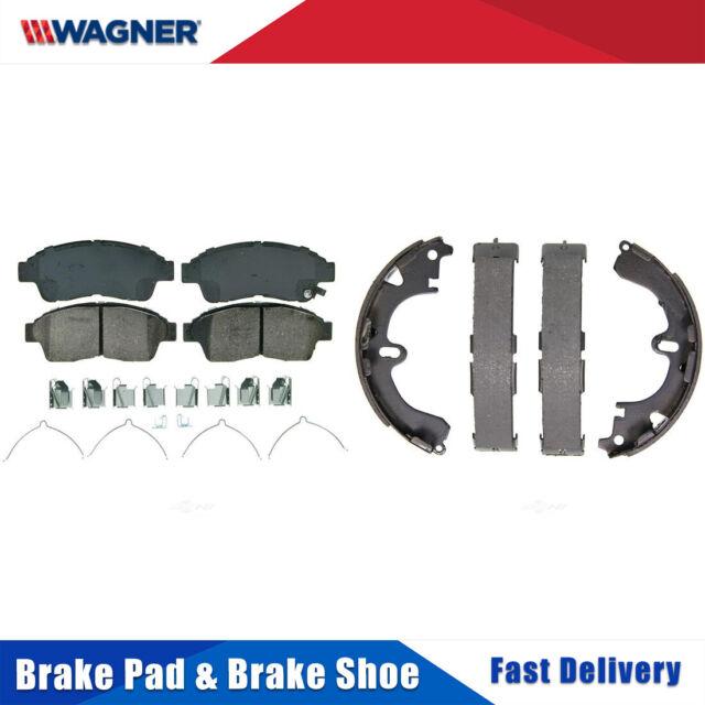 Front /& Rear Metallic Brake Pads /& Brake shoes 2SET For Chevrolet HHR 2009 2010