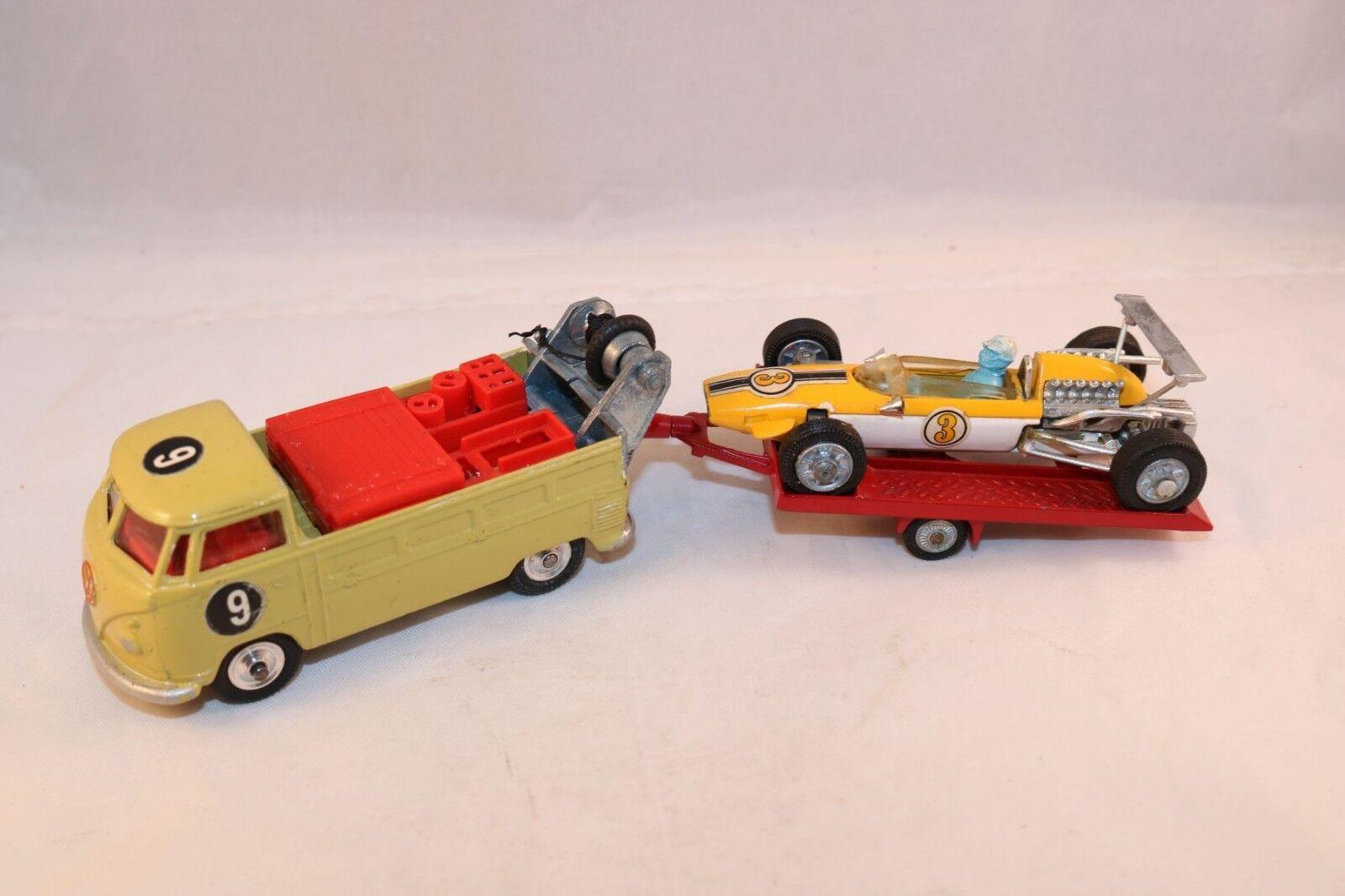 varios tamaños Corgi Juguetes Giftset 25 25 25 Volkswagen with trailer and Cooper near mint condition  grandes ofertas