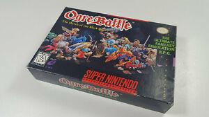 Ogre-Battle-Super-Nintendo-SNES-NTSC-Nur-OVP-Genuine-Box-only-VGC-Sammler-NoGame