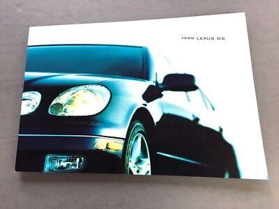 1999 Lexus GS300 GS400 GS 50-page Original Car Sales ...