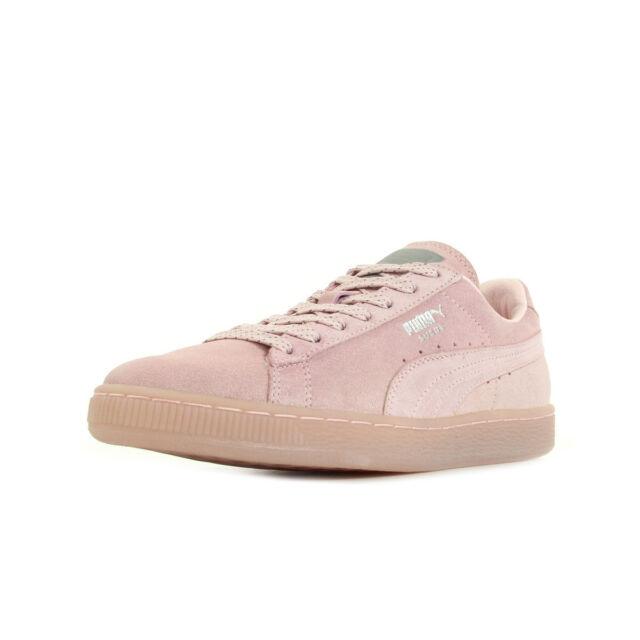 puma basket rose pale