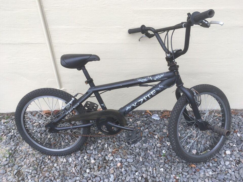 Unisex børnecykel, BMX, X-zite