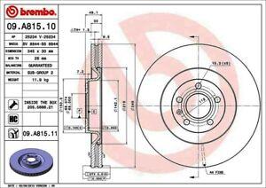 Brembo 09.7485.81 Front Premium Brake Rotor 12 Month 12,000 Mile Warranty