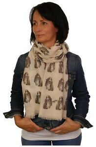 Great Dane Scarf dog print scarves printed ladies fashion womens shawl