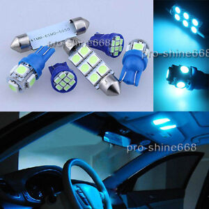 Led Lights Interior Package Kit For Ford F 150 F150 2004 2014 13pcs Ice Blue